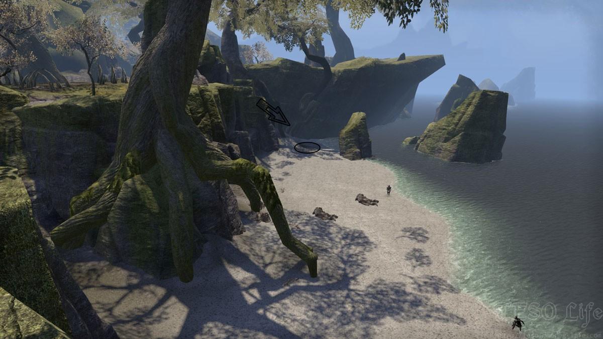 malabal tor treasure map VI in game