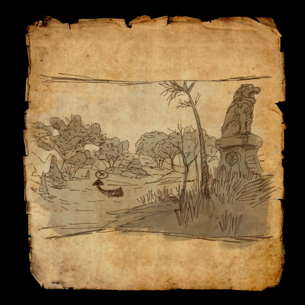 Reaper's March Treasure Map V
