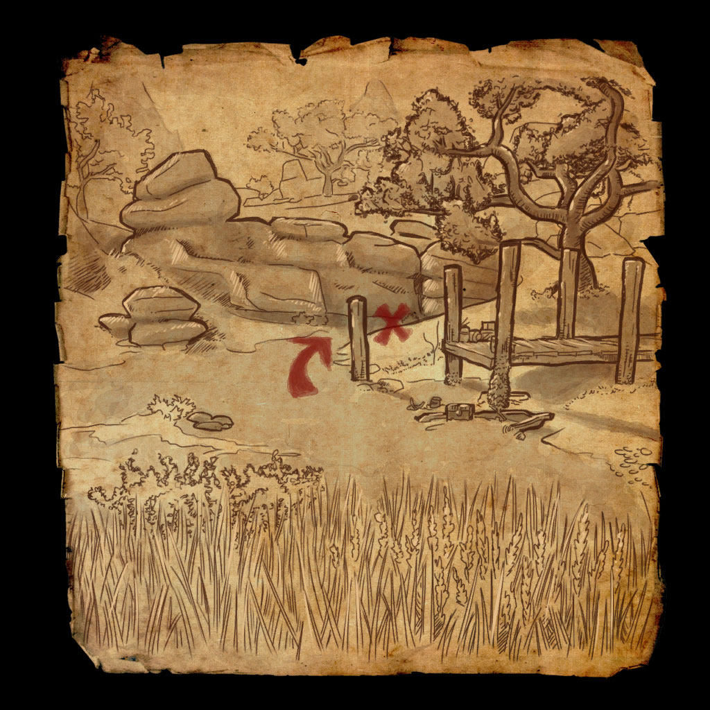 Reaper's March Treasure Map VI