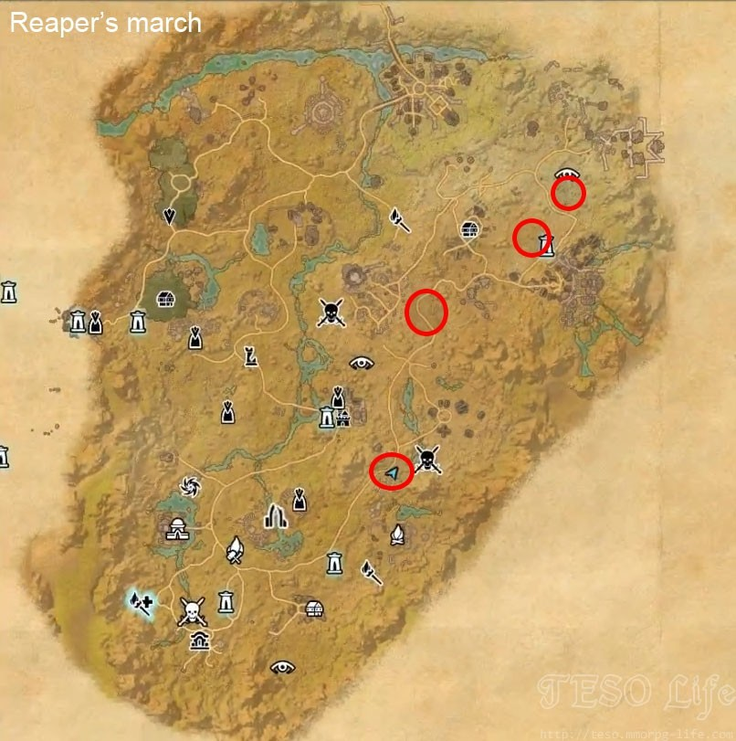Reaper's march werewolf spawn location