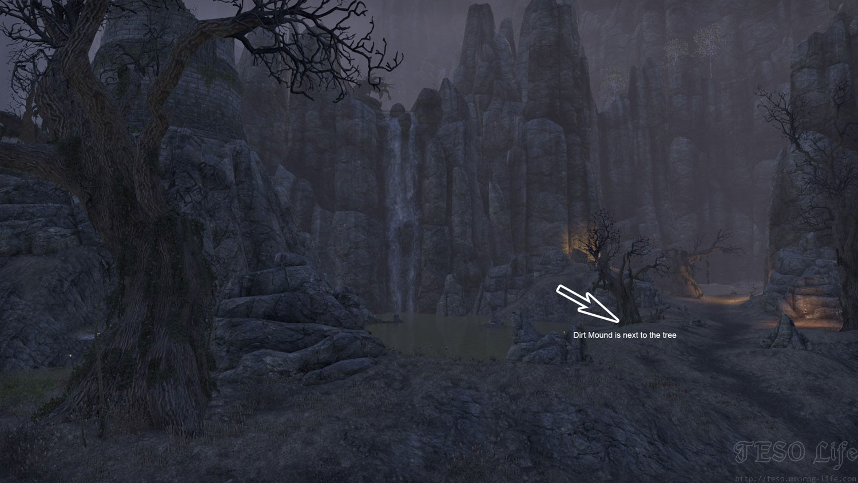 Rivenspire Treasure Map I digging location