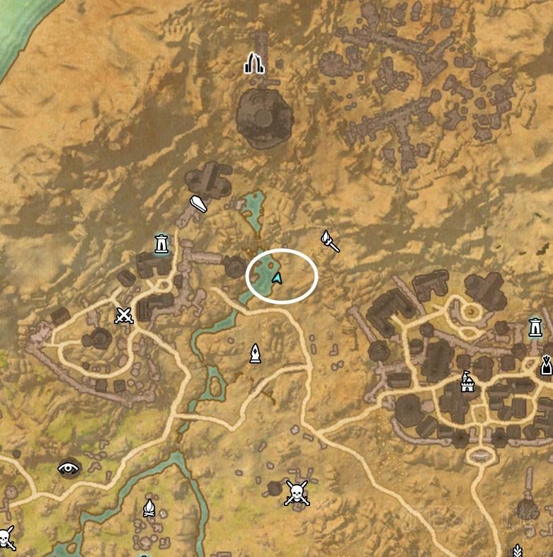 Rivenspire Treasure Map I location