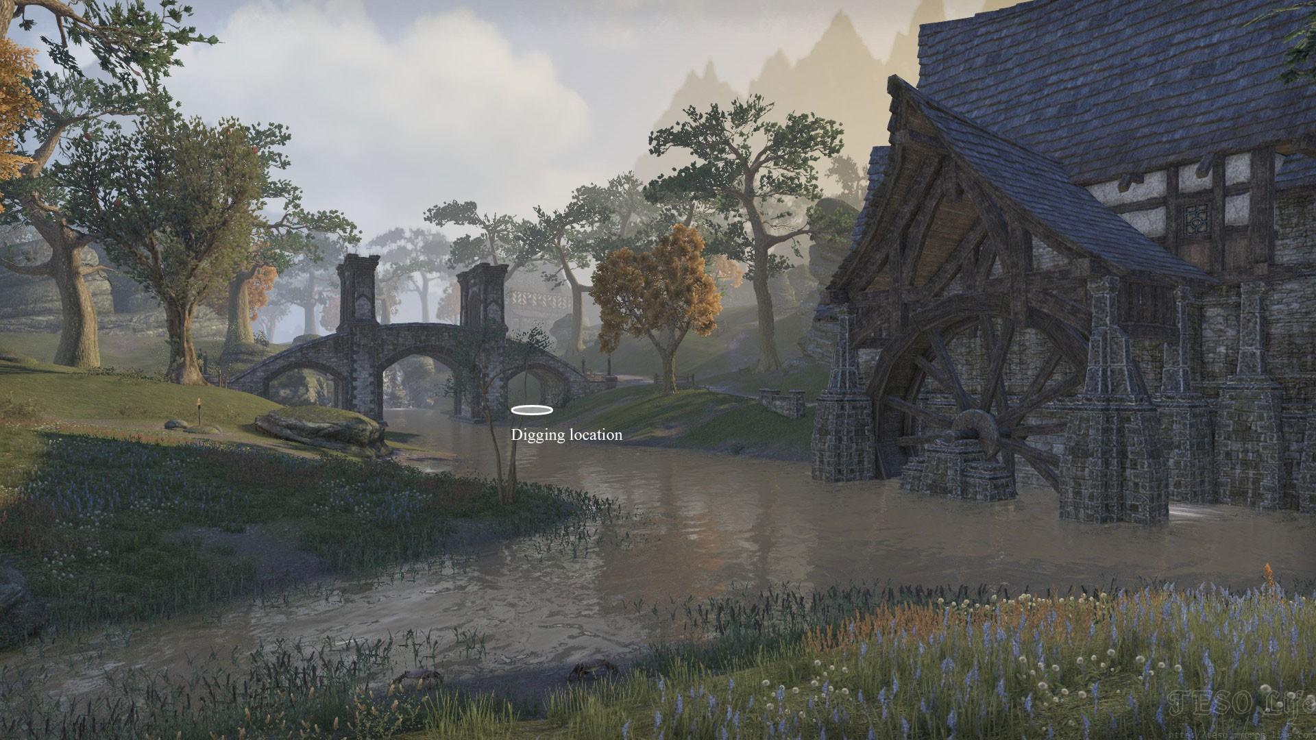 Stormhaven Treasure Map II dig location