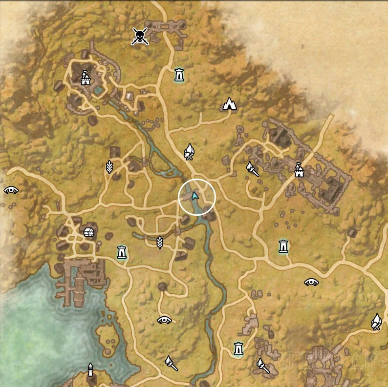 Stormhaven Treasure Map II location