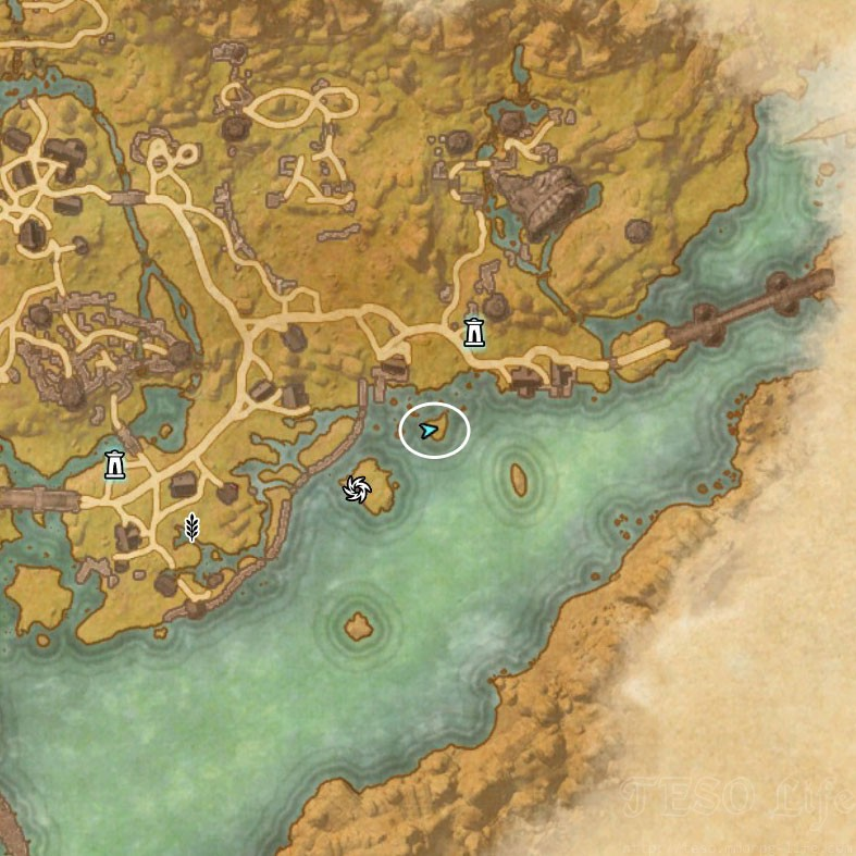 aven Treasure Map VI location