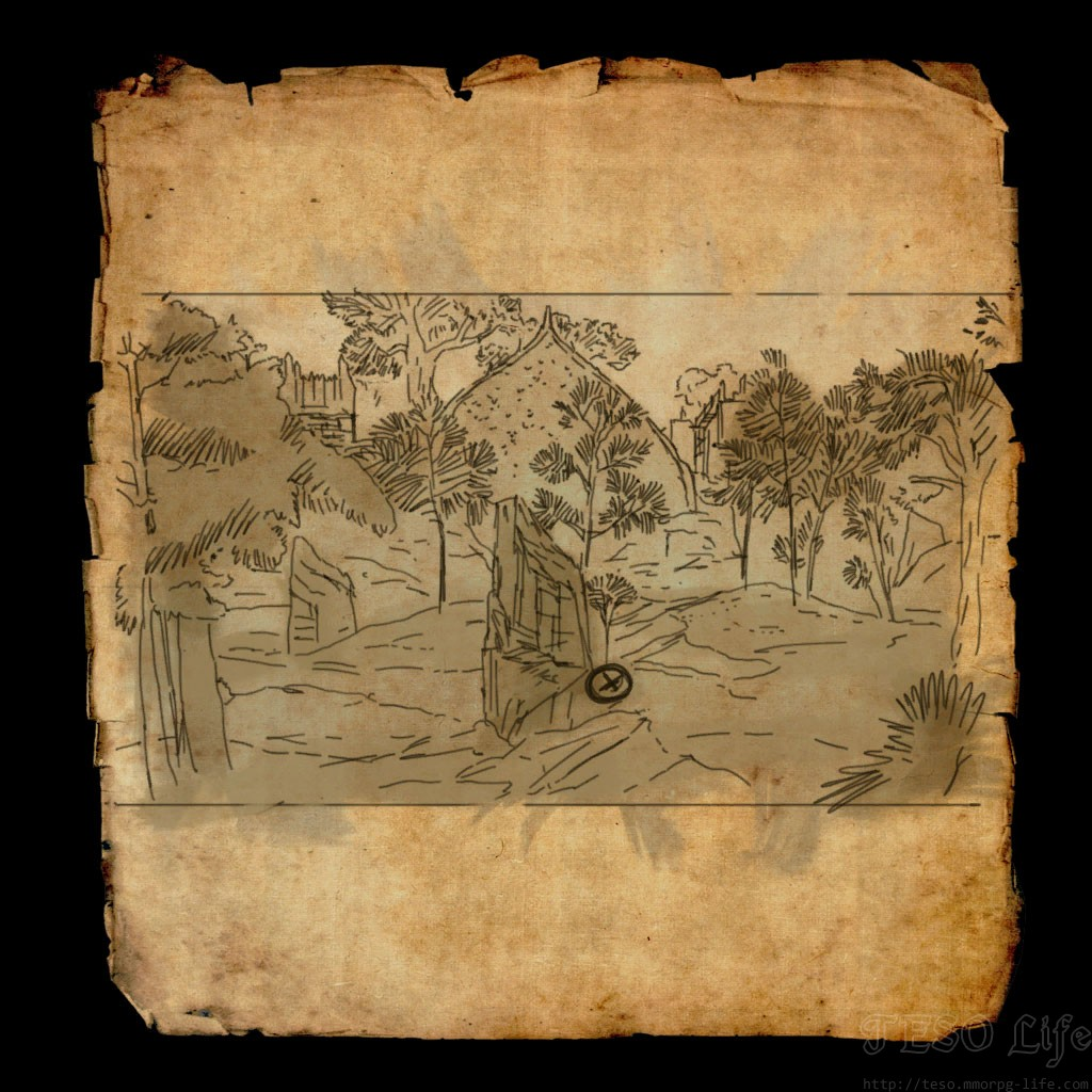 eso Grahtwood Treasure Map V