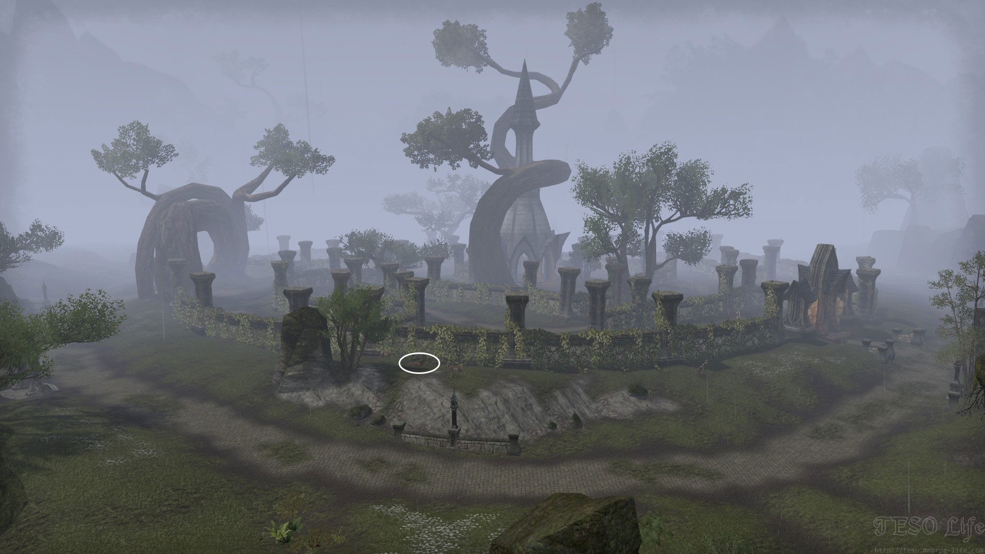 eso Greenshade CE Treasure Map hidden treasure loc
