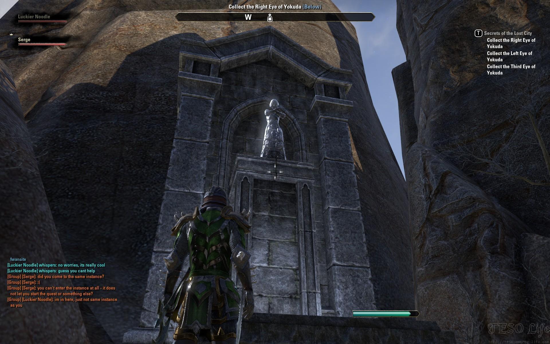 Vampire altar
