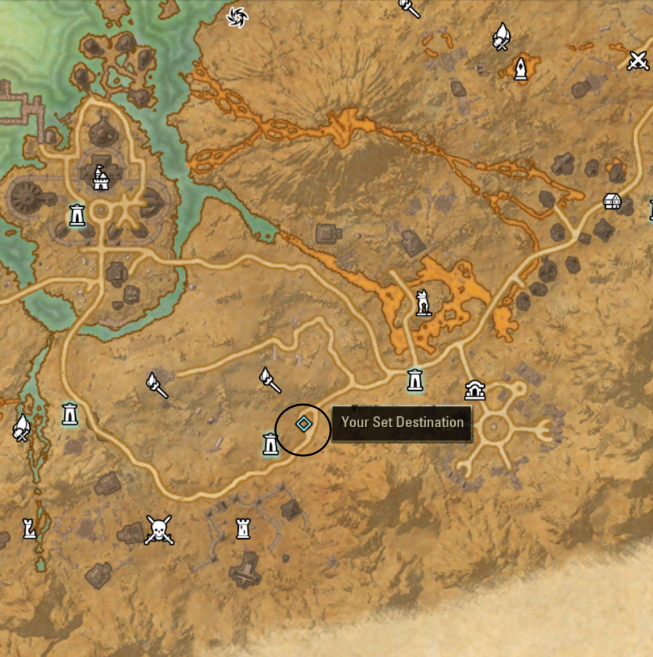 eso Stonefalls Golden Palms Locations