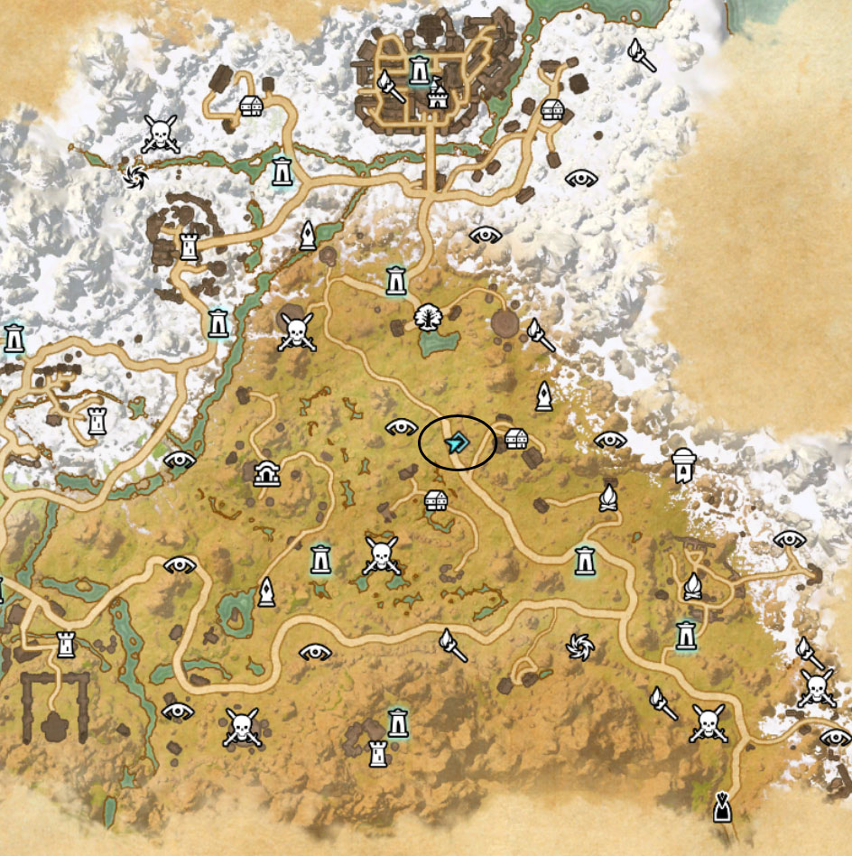 eso eastmarch Golden Palms Locations