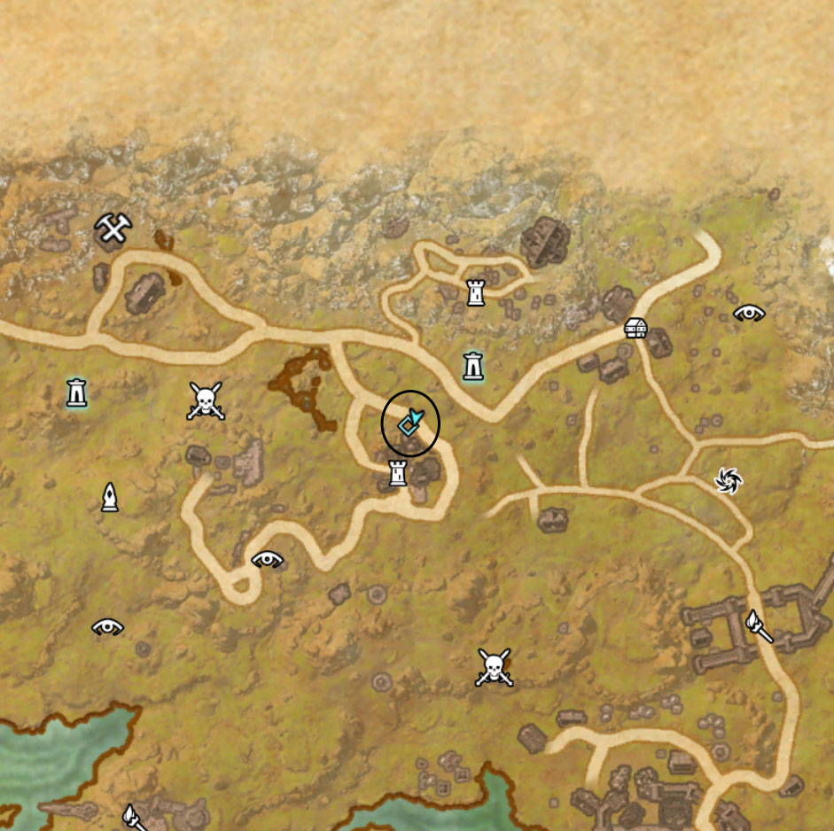 eso rift Golden Palms Locations