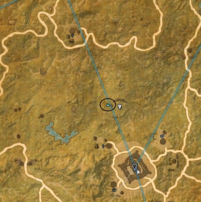 Cyrodiil Treasure Map IX location