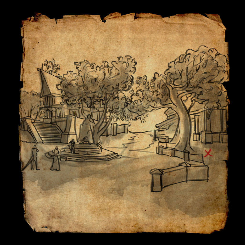Cyrodiil Treasure Map VIII