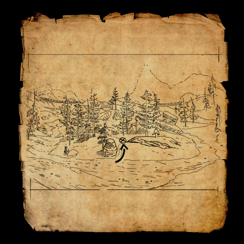 Cyrodiil Treasure Map X