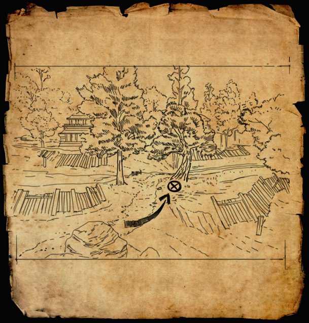 Cyrodiil Treasure Map 16