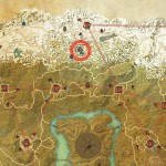 ESO Cyrodiil Treasure Map XII Location