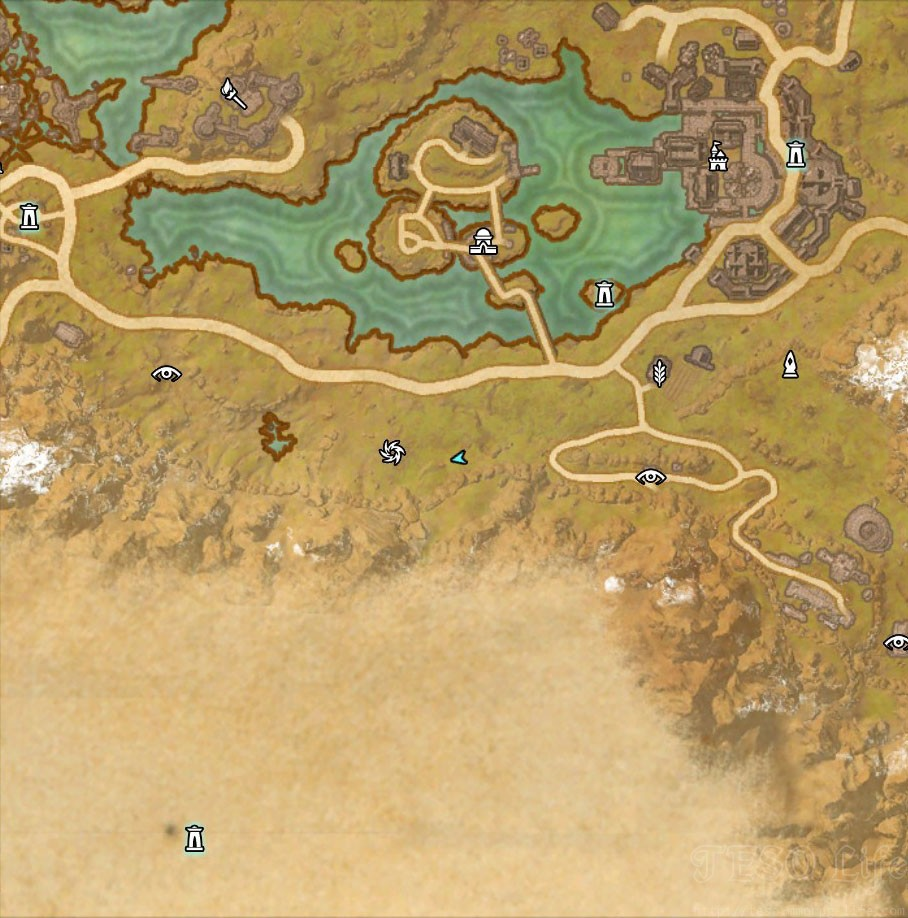 eso rift CE treasure map location