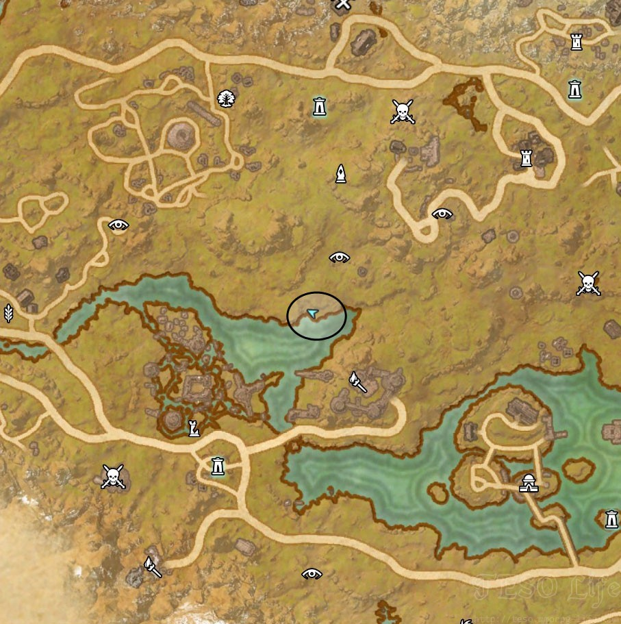 eso rift treasure map II location
