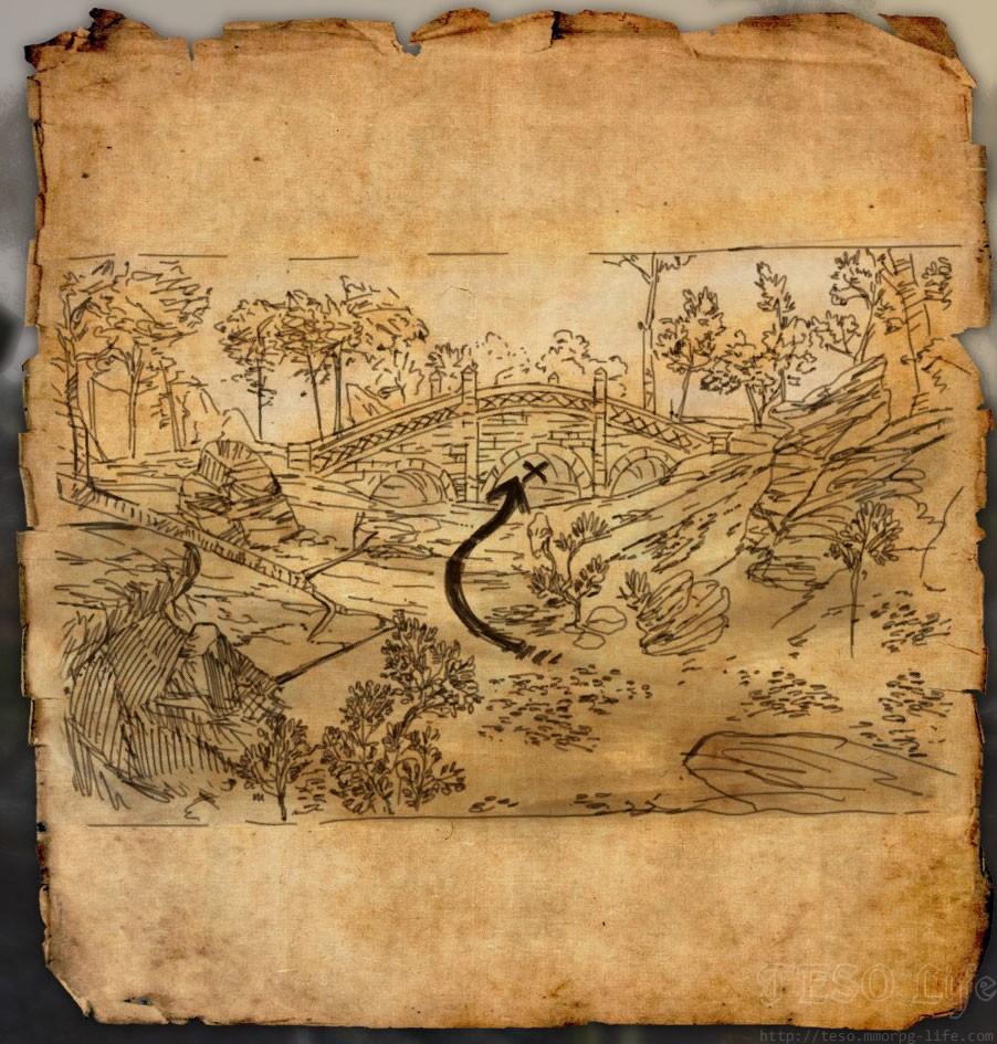 eso rift treasure map IV