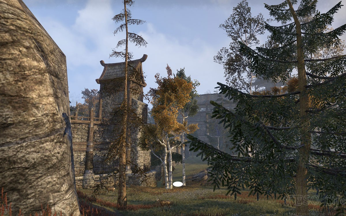 eso rift treasure map I between trees