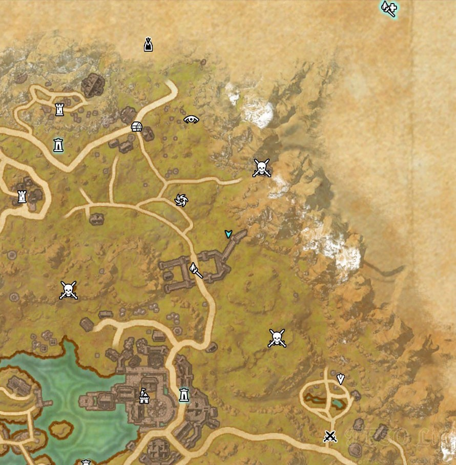 eso rift treasure map I location