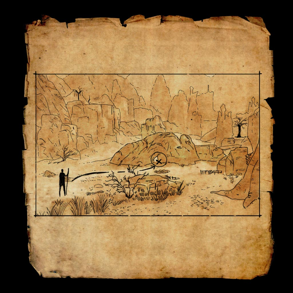 craglorn treasure map 1
