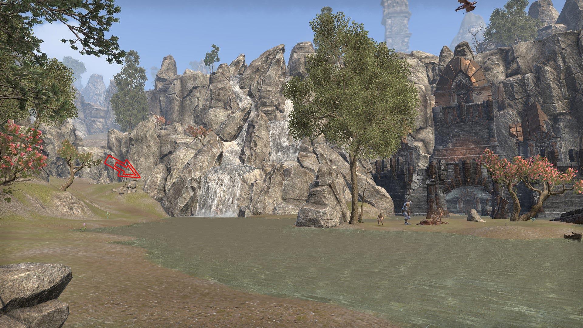 craglorn treasure map 2 in game