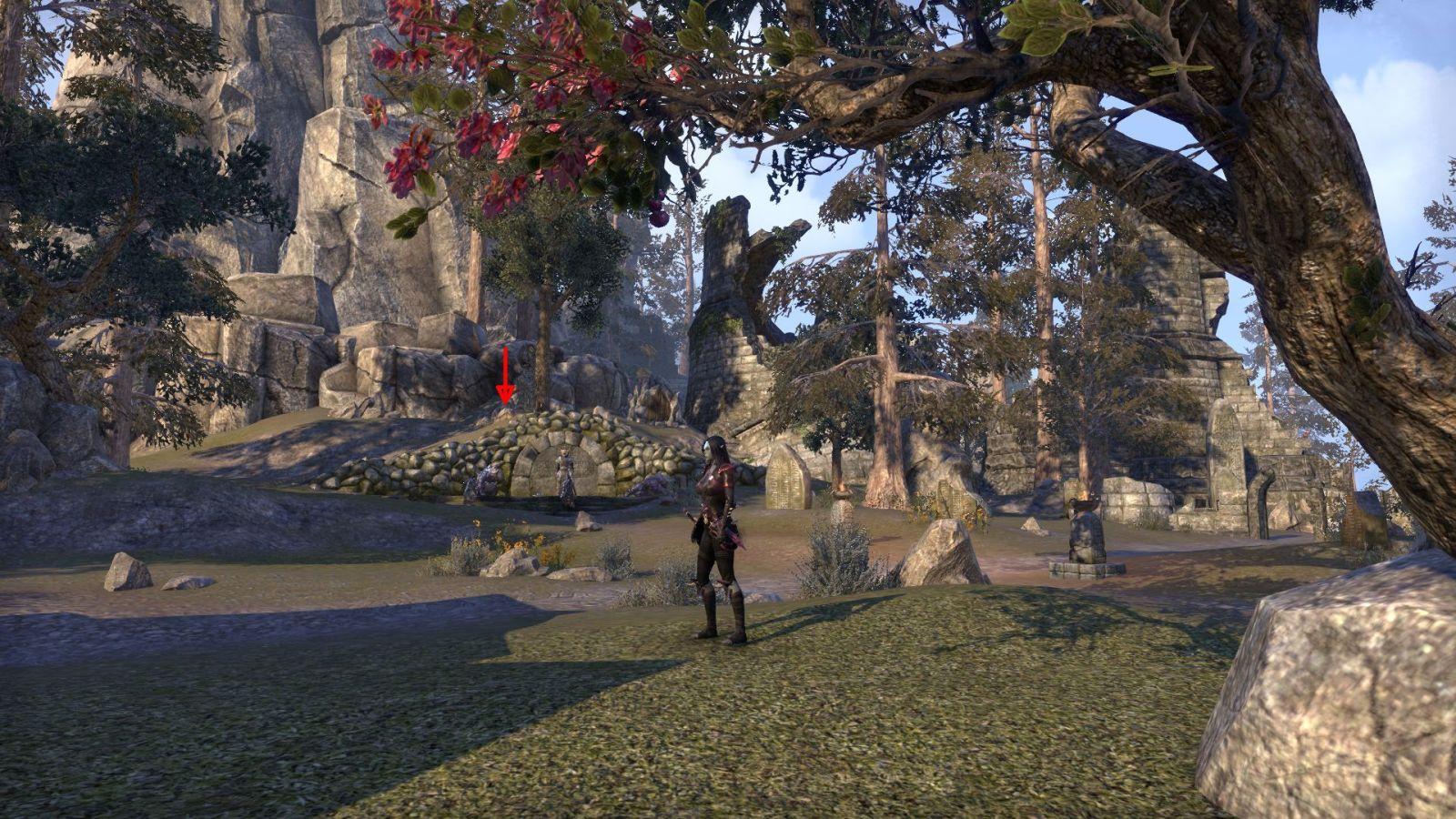 eso Craglorn treasure map 5 ingame