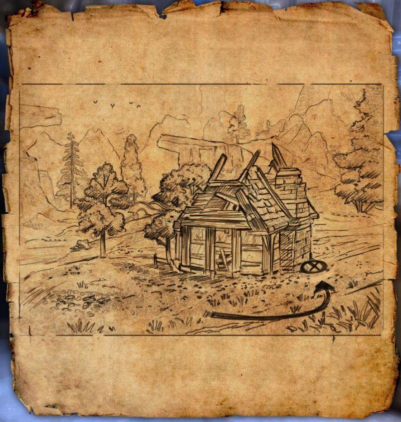 eso Craglorn treasure map 6