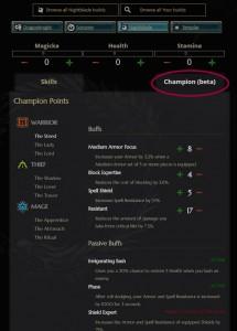 Eso Champion Points Dk Tank