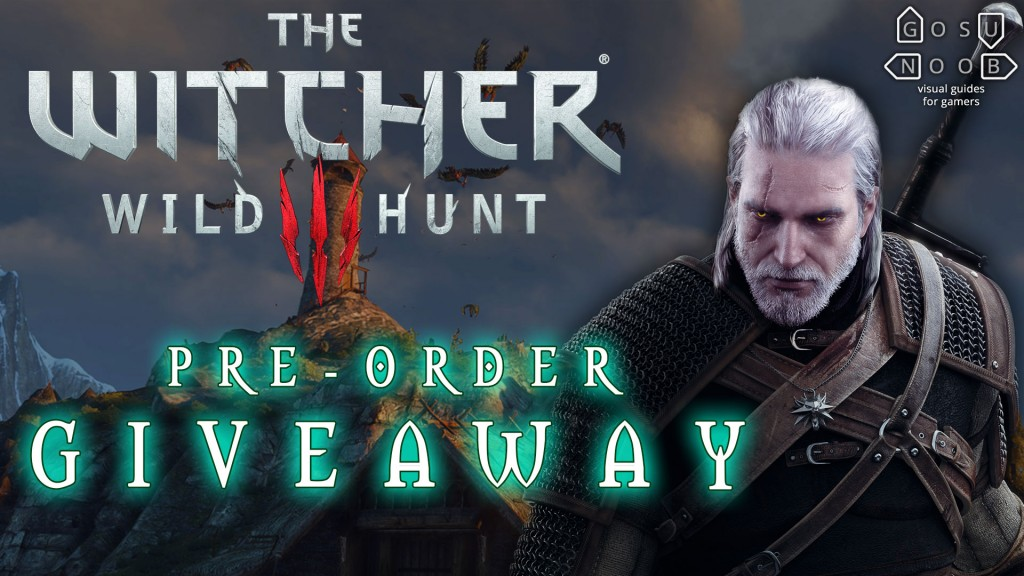 witcher 3 giveaway
