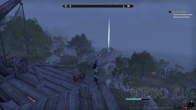eso skyshards gold coast wrothgard hews bane