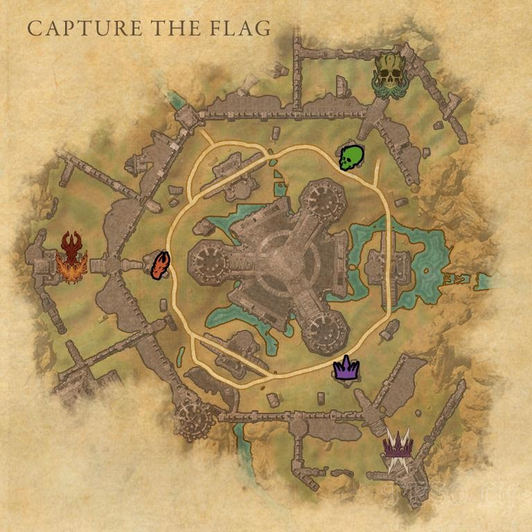 ularra battleground capture the flag