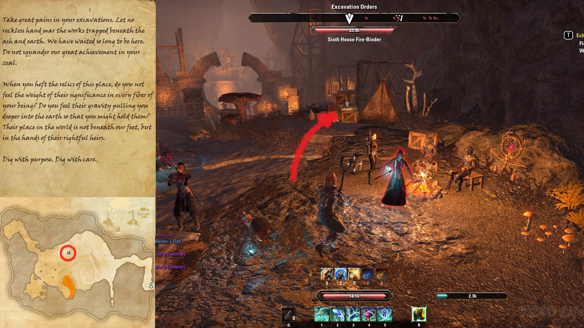 Clues to Nevena's Whereabouts Locations ESO Morrowind