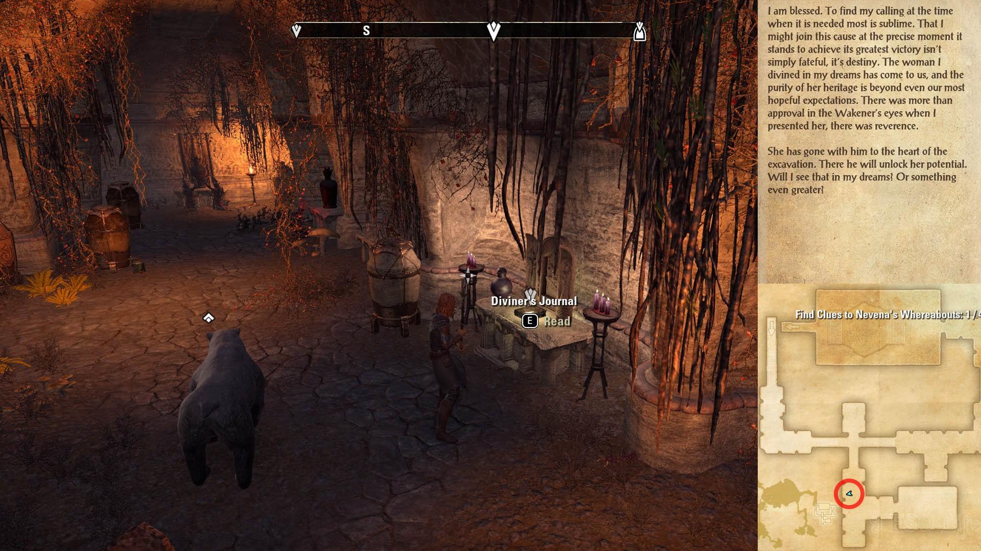 Diviner's Journal ESO Morrowind
