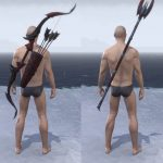 ESO Morrowind Battleground Sets Range Weapons Showcase
