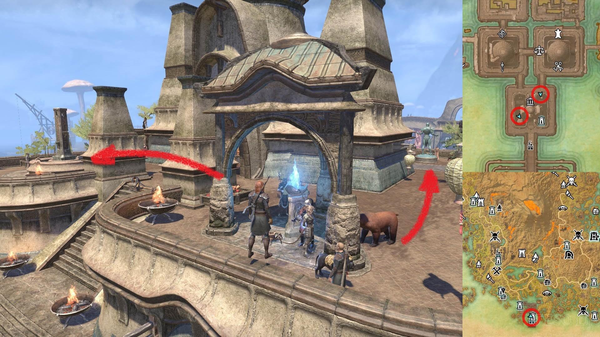 ESO Morrowind Shrine of Daring and Generosity
