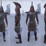 ESO Morrowind Wizard's Riposte Battleground Armor Set Showcase