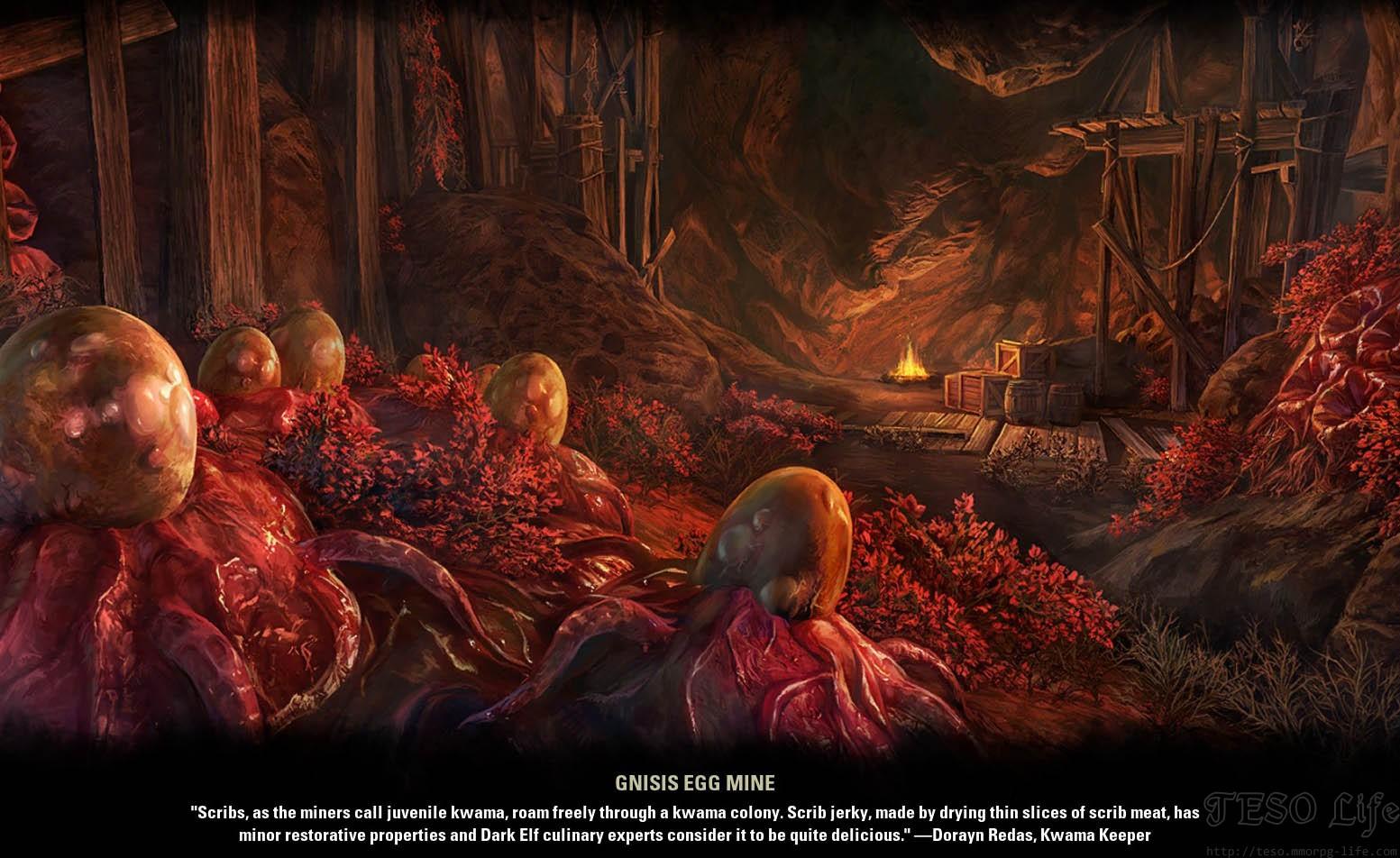 Gnisis Egg Mine ESO Morrowind