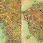 Map Location of Treasure Map 3 Vvardenfell ESO Morrowind