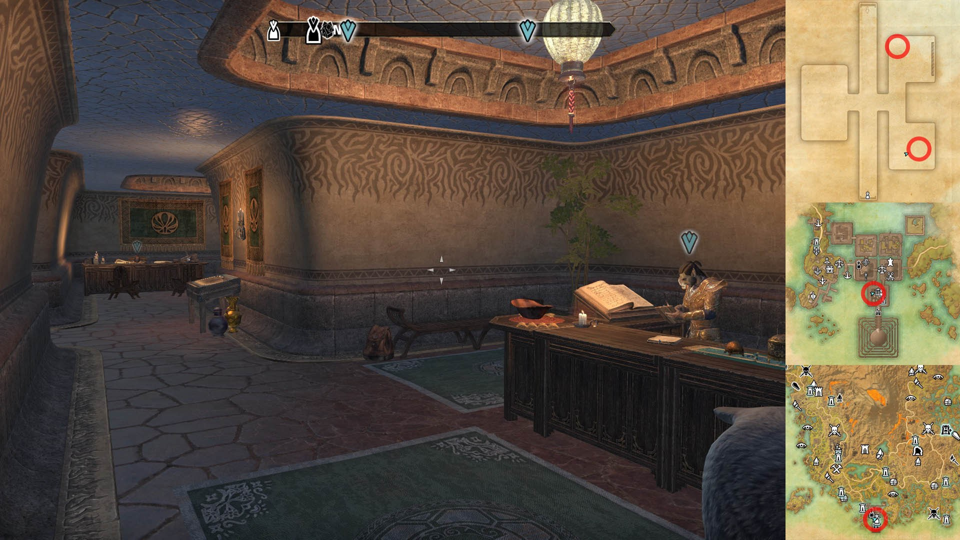 Morag Tong Daily Quests Location ESO Morrowind