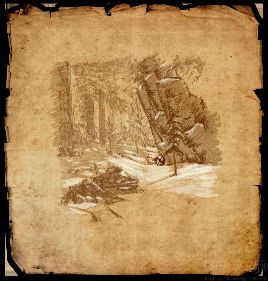 TESO Wrothgar Treasure Map 2