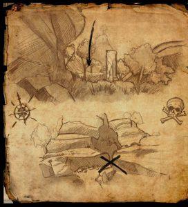 Thieves Guild Treasure Map 2 TESO