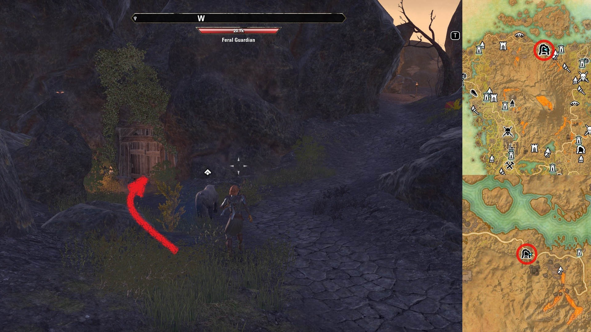 Vvardenfell Forgotten Wastes Public Dungeon