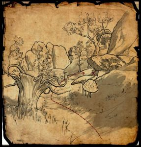 Vvardenfell Treasure Map 4 Photo ESO Morrowind