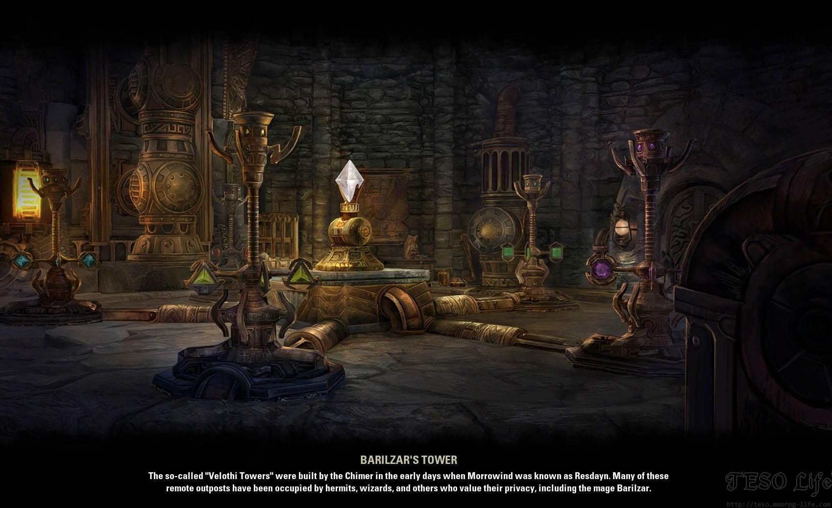 Barilzar's Tower Puzzle ESO Morrowind
