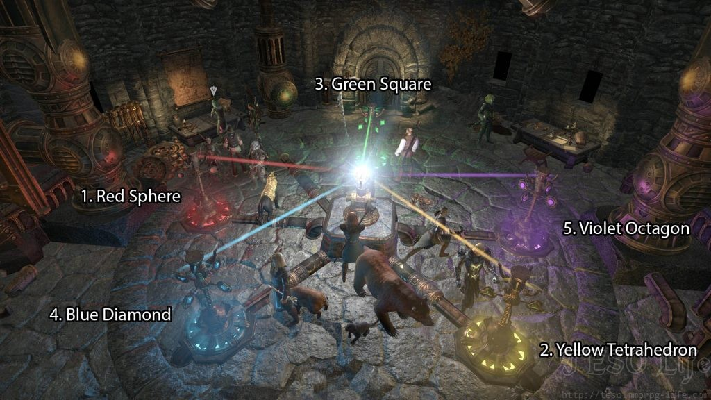 ESO Morrowind Barilzar's Tower Puzzle Solution