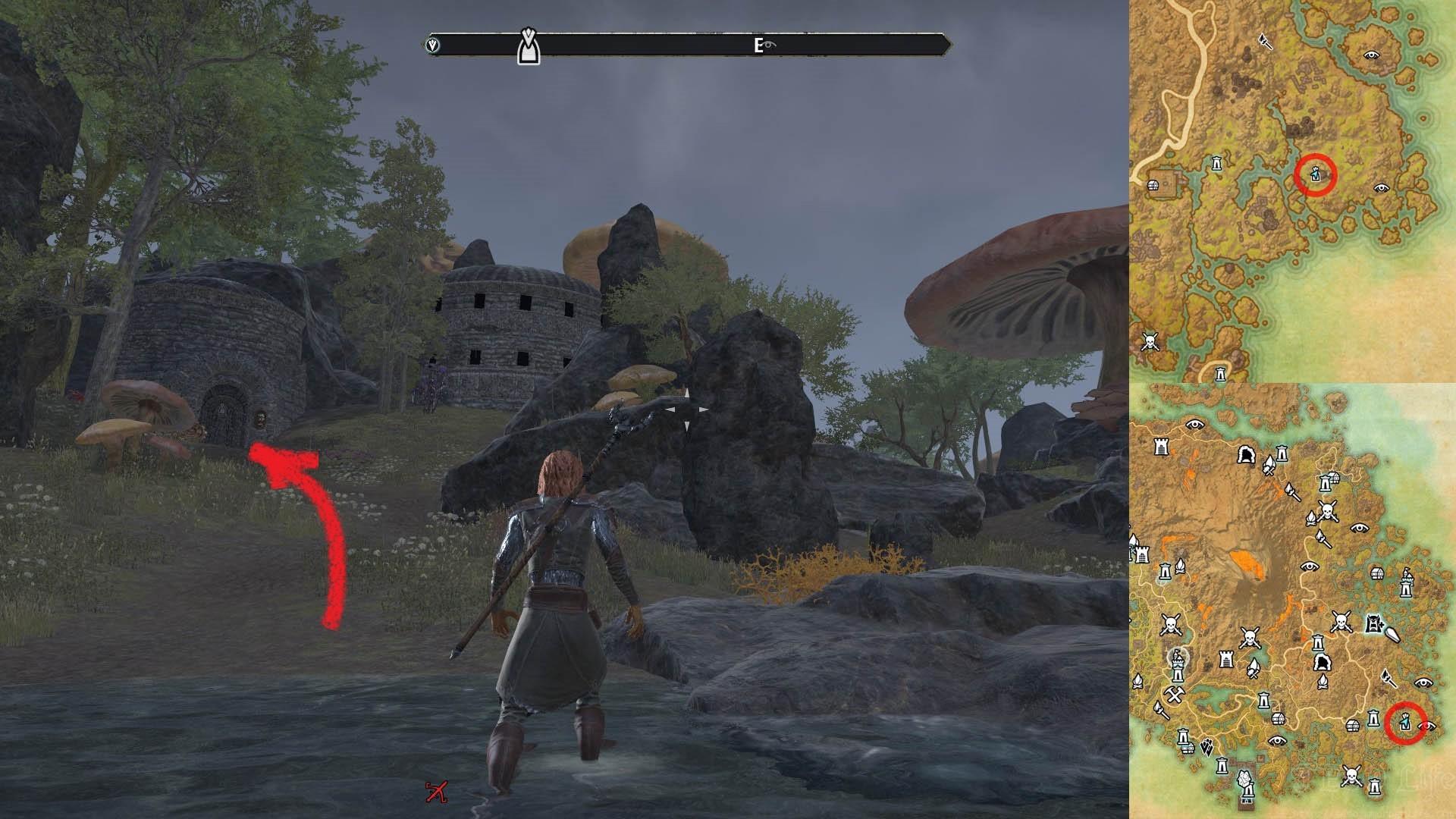 Investigate Barilzar's Tower ESO Morrowind