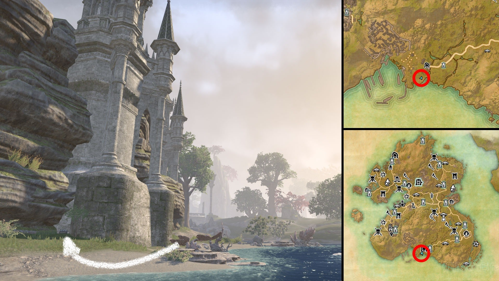 ESO Chestplate of Desiccation Summerset Relic Location
