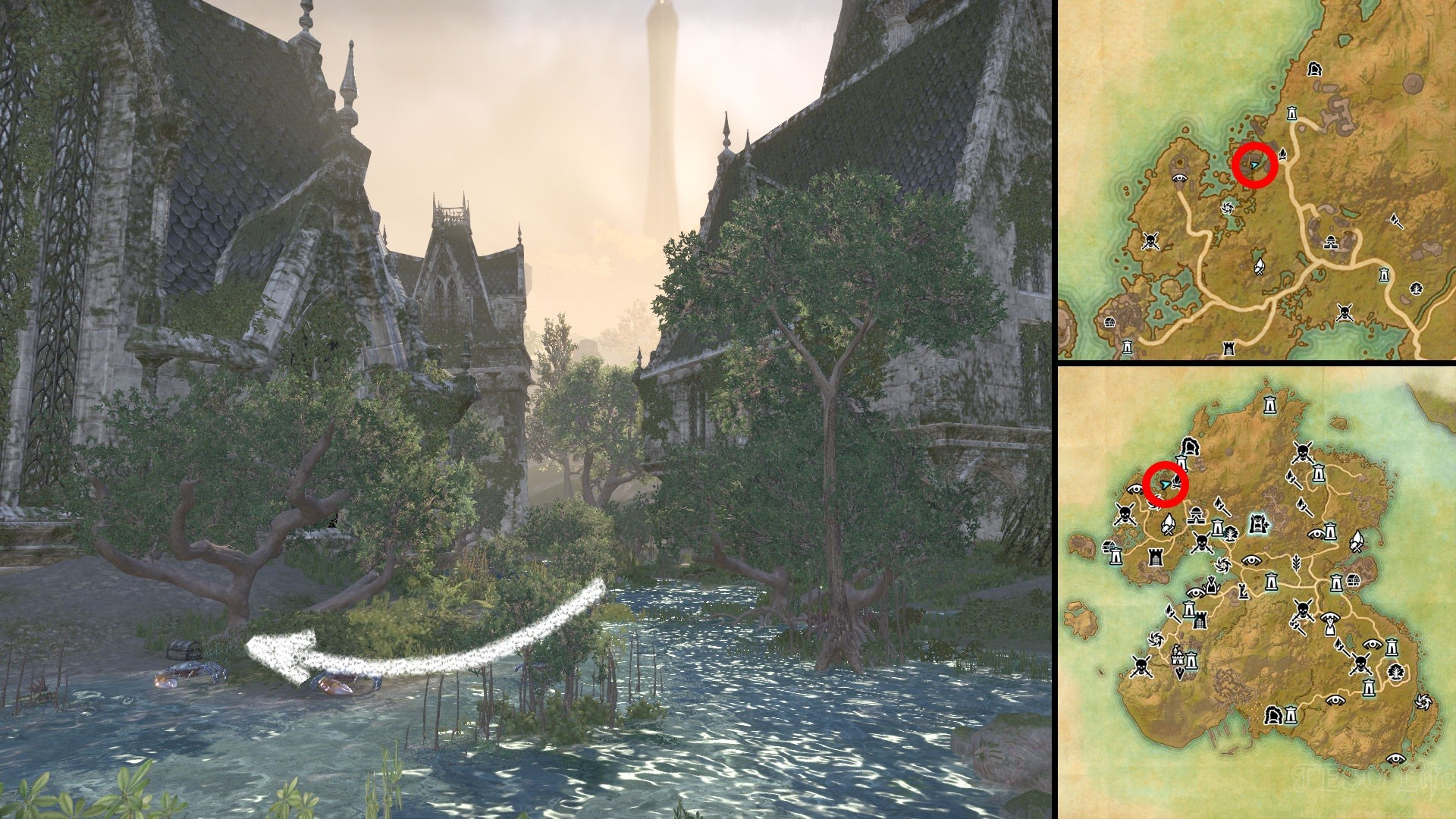 ESO Inescapable Helm Relic Location Summerset